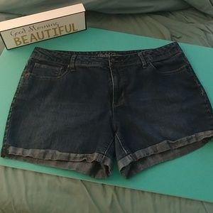 Faded Glory Jean Shorts
